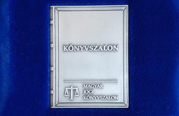 Könyvszalon Nagydíjat nyert Völcsey Balázs