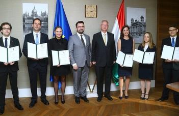 Miniszteri elismerő oklevelet kapott a Jessup-csapat