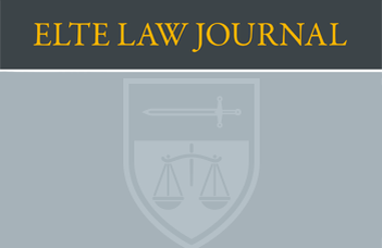 ELTE Law Journal 2018/2 edition has been published