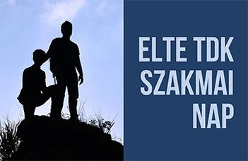 Az ELTE Oktatásfejlesztési és Tehetséggondozási Iroda kedvcsináló programja TDK-n való részvételhez.