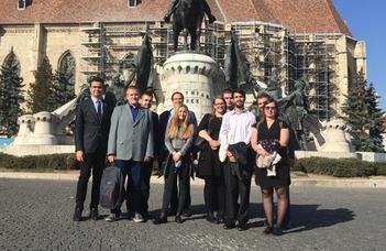 Nemzetközi konferencián a Közigazgatási Jogi Tanszék és TDK