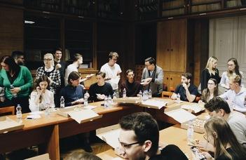 Új kezdeményezés az ELTE-n: Lunch Talk