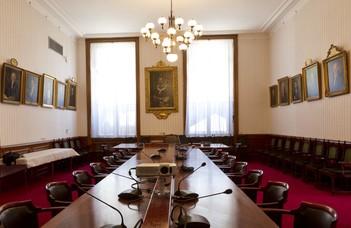 A professzor a jogállamiságról mint az EU-ról szóló szerződésben is lefektetett értékről ad elő.