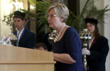 Jubileumi Ezüst Emlékérmet kapott Nagy Marianna