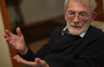Születésnapi interjú Schlett István professor emeritussal